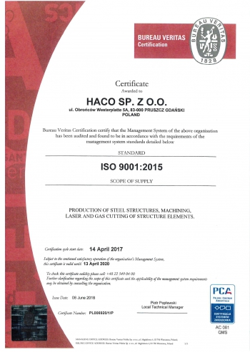 ISO 9001-2015 CERTIFICATE-1